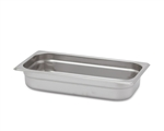 "Royal Heavy Duty Steam Table Pan - 1/3 Size, 2.5"" Deep"