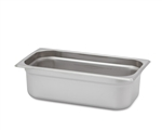 "Royal Heavy Duty Steam Table Pan - 1/3 Size, 4"" Deep"