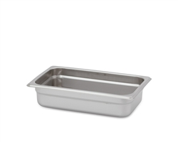 "Royal Heavy Duty Steam Table Pan - 1/4 Size, 2.5"" Deep"