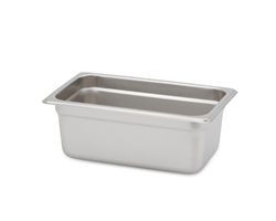 "Royal Steam Table Pan - 1/4 Size, 4"" Deep"