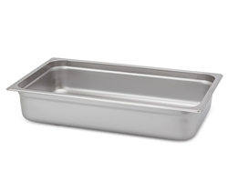 "Royal Heavy Duty Steam Table Pan - Full Size, 4"" Deep"