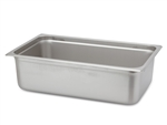 "Royal Industries ROY-STP-2006 Full Size 6"" Deep Steam Table Pan"