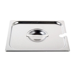 Royal Industries Pan Lid - 2/3 Size, Notched