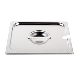 Cover For Two-Third Size Steam Table Pan With Utensil Notch (ROY STP 2300 2)