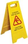 "Royal Industries Caution ""Wet Floor"" Sign, (ROY WS CA)"
