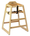 Royal Industries Youth High Chair - Natural Finish, (Roy 700 N)