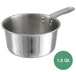 Winco Stainless Steel Sauce Pan - 1.5 Qt.