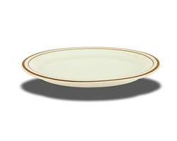 "Platter, 9-5/8"" x 8"", oval, narrow rim, ceramic, Spice"