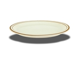 "Platter, 11-1/2"" x 9-5/8"", oval, narrow rim, ceramic, Spice"