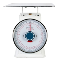 Thunder Group Portion Control Analog Dial Scale - Maximum Capacity 100 lbs (SCSL007)
