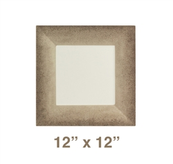 "Square Plate - 12"" x 12"", Jazz Pattern"