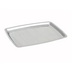 "Winco Sizzling Platter - Rectangle - Stainless Steel - 11"", (SIZ-11B)"