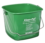 San Jamar KP256GN Cleaning Bucket - 8 Qt., Green