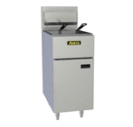 Anets SLG50 SilverLine Gas Fryer - 50 lb., 120,000 BTU