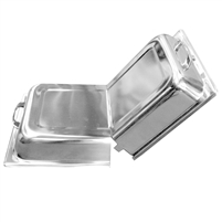 Thunder Group Hinged Dome Cover, Fits Full Size Steam Table Pan, (SLRCF7100)