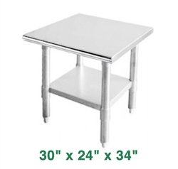 "Economy Work Table - 30"" x 24"" x 34"""