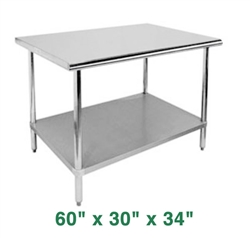 "Economy Work Table - 60"" x 30"" x 34"""