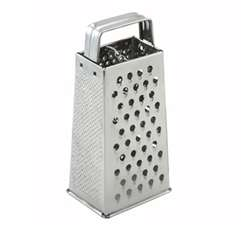 "Winco Tapered Grater - 4"" X 3"" X 9"", (SQG-1)"