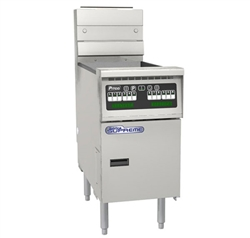 Pitco SSH75-SSTC-S Supreme Gas Fryer - 75 lb.