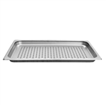"Thunder Group Perforated Steam Table Pan - Full Size, 1.25"" Deep (STPA7001PF)"