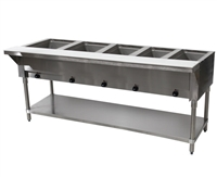 Advance Tabco 5 Well Electric Steam Table Open Base SW-5E-120