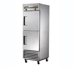 True 27-Inch (2) Door One Section Dual Temperature Reach-In Refrigerator / Freezer Combo, (T-23DT)