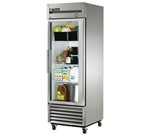 True 27-Inch (1) Glass Door 23 Cu.Ft. Bottom Mounted Reach-In Refrigerator, (T-23G-LD)