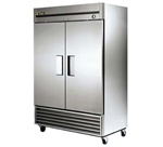 True 54-Inch 49 Cu.Ft. (2) Door Bottom Mounted Reach-In Freezer, (T-49F-HC)
