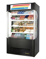 True TAC-48SM-LD Vertical Air Curtain Merchandiser