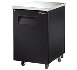 "True TBB-1 24"" Solid Door Back Bar Cooler"