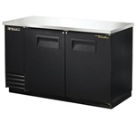 "True TBB-2 59"" (2) Solid Door (4) Shelves Back Bar Cooler"
