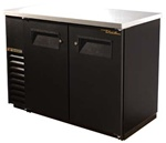 "True TBB-24-48 48"" (2) Solid Door Back Bar Cooler"