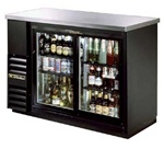 True TBB-24-48G-SD-LD 2-Door Back Bar Cooler