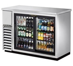True TBB-24-48G-SD-S-LD Stainless Steel Back Bar Cooler