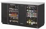 Turbo Air 69.1-Inch (2) Glass Door Back Bar Cooler, (TBB-3SG)
