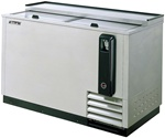 Turbo Air 50-Inch Stainless Steel Bottle Cooler, (TBC-50SD)