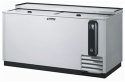 Turbo Air 65-Inch Stainless Steel (2) Door Bottle Cooler, (TBC-65SD)