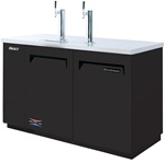 Turbo Air (2) Door (2) 1/2 Barrel Draft Beer Cooler, (TBD-2SB)