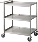 Turbo Air TBUS-1524E Stainless Steel Bus Cart - 24""