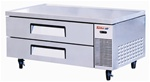 Turbo Air 10.6 Cubic Feet (2) Drawer Chef Base Refrigerator, (TCBE-52SDR)
