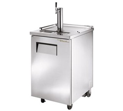 True 24-Inch One Keg Stainless Steel Direct Draw Beer Dispenser, (TDD-1-S)