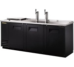 True (3) Door 4 Keg Club Top Draft Beer Cooler, (TDD-4CT)
