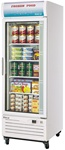 Turbo Air (1) Glass Door 23 Cu.Ft. Freezer Merchandiser, (TGF-23F)