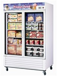 Turbo Air TGF-49F 2-Door Freezer Merchandiser