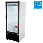 Turbo Air 11 Cu.Ft. Refrigerated Retail Glass Door Merchandiser, (TGM-11RV)