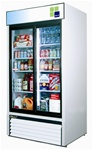 Turbo Air (2) Sliding Glass Door 35 Cu.Ft. Refrigerated Merchandiser, (TGM-35R)