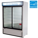 Turbo Air TGM-48R 2-Door Refrigerated Merchandiser