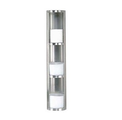 Dispense-Rite Suface Mount Stainless Steel Lid Dispenser, (TLD-3-3)