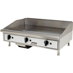 "Toastmaster Countertop Griddle Natural Gas with Thermostatic Controls - 36"" Wide (TMGT36)"