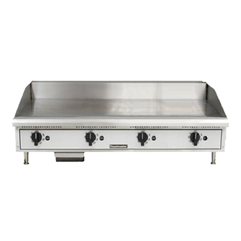"Toastmaster Countertop Griddle Natural Gas with Thermostatic Controls - 48"" Wide (TMGT48)"